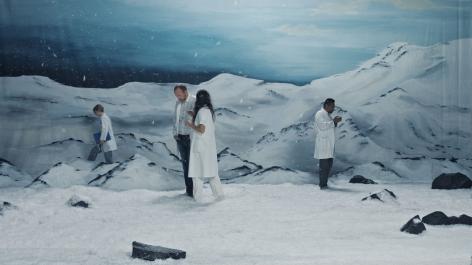Ragnar Kjartansson Figures in Landscape (Saturday), 2018