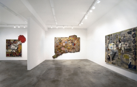 Jane Hammond, Installation view