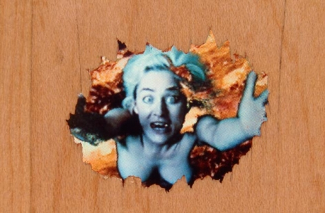 Pipilotti Rist Selbstlos im Lavabad (Selfless In The Bath Of Lava), 1994