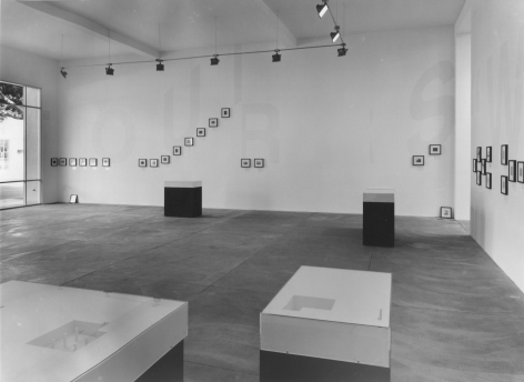 Stephen Prina, Installation view