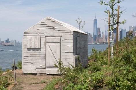 Rachel Whiteread, Cabin, 2015