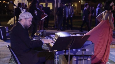 Jason Moran and Alicia Hall Moran