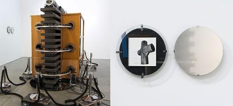 Reinhard Mucha Straight, 2013 and Edition 1991 - >>Kreuzstück, 2004