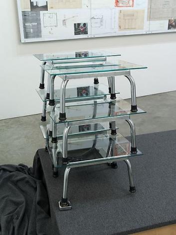 Reinhard Mucha Test Arrangement for Untitled (Reinhard Mucha - Die Letzten werden die Letzen sein - Nationalgalerie Berlin 1982), 2008, For Mies van der Rohe, 2013