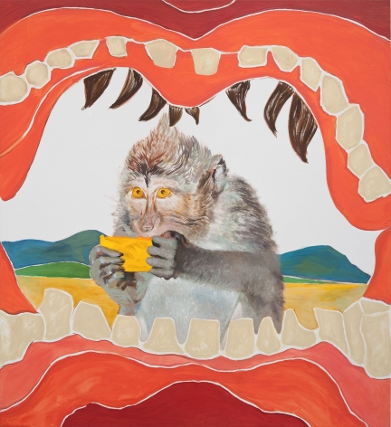 Allison Katz, Double Hunger, 2015