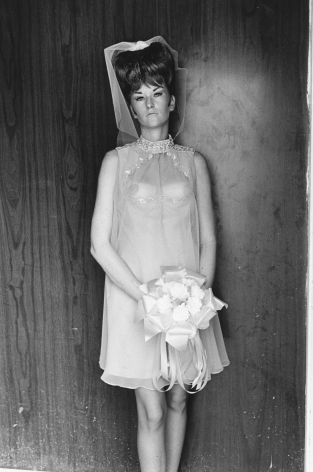Lee Friedlander, Topless Bridesmaid, 1967