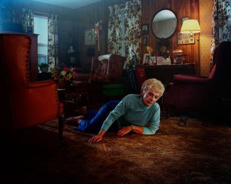 Gregory Crewdson Untitled (rug lady formation), 1999