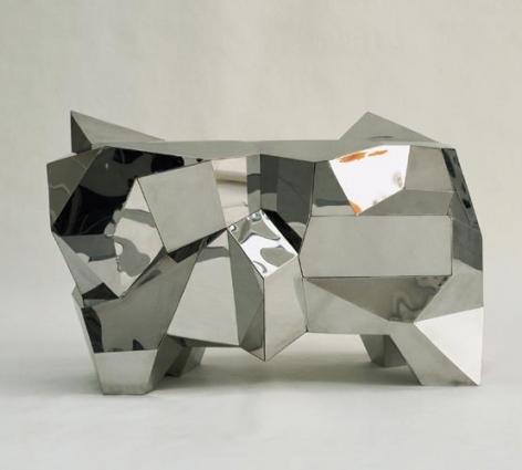 Mattia Bonetti, Chest of Drawers 'Polyhedral'