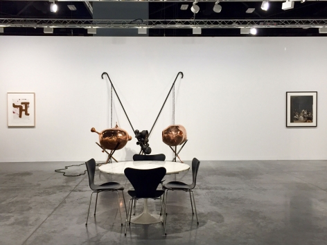 Luhring Augustine, Art Basel Miami Beach, Booth E11