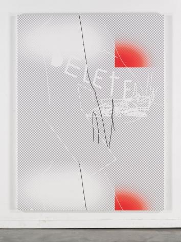 Jeff Elrod Delete (Grid), 2015