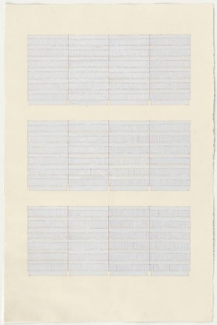 Rachel Whiteread Library Drawing, 1996