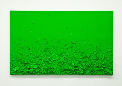 Tom Friedman Toxic Green Luscious Green, 2014