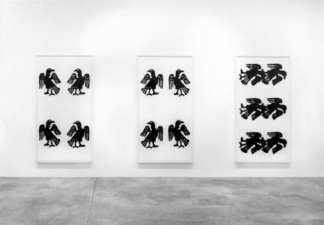 Christopher Wool, Works on Paper