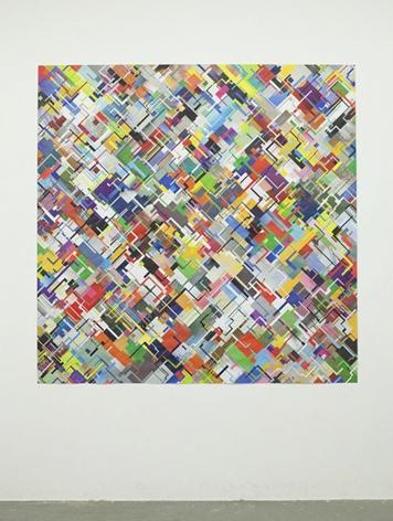 Tom Friedman Untitled(circuit collage), 2015