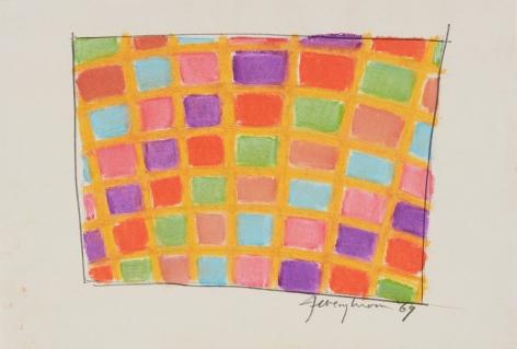 Jeremy Moon, Drawing [69], 1969