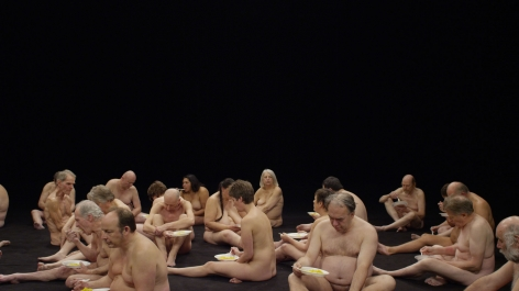 Guido van der Werve, Nummer zestien,the present moment, 2016