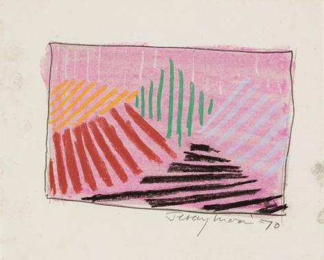 Jeremy Moon, Drawing [70], 1970