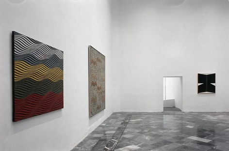 Philip Taaffe Exhibition view