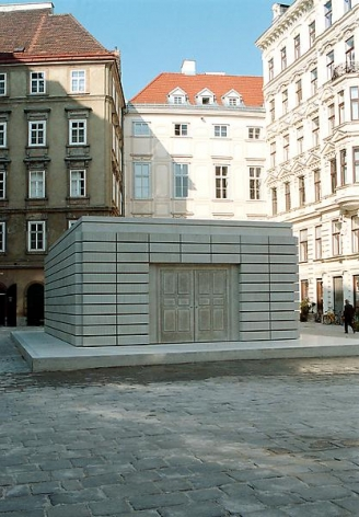 Rachel Whiteread Holocaust Memorial, 1995-2000