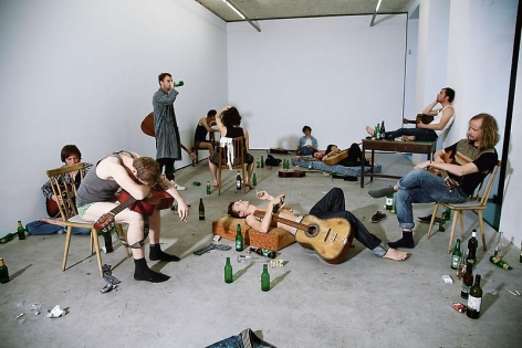 Ragnar Kjartansson Take me here by the Dishwasher, Memorial for Marriage, 2011