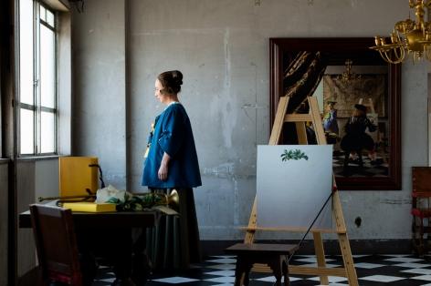 Yasumasa Morimura, Vermeer's Room,2016