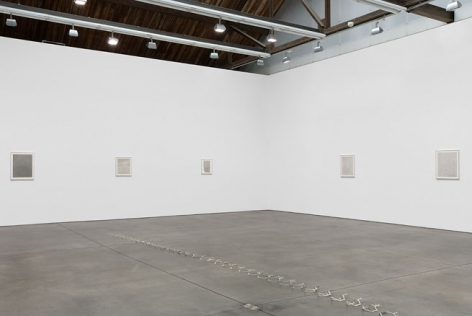 David Musgrave Installation view