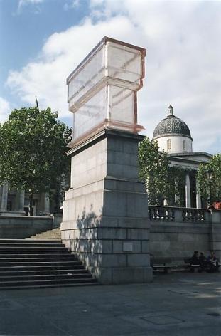 Rachel Whiteread Monument, 2001