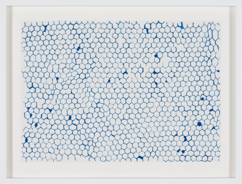 Rachel Whiteread, Untitled (turquoise), 2015