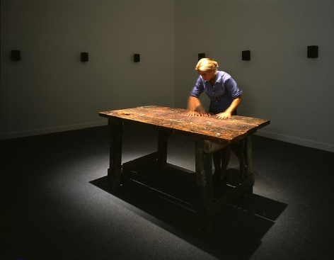Janet Cardiff To Touch, 1993