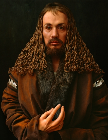 Yasumasa Morimura, Durer's Hand is Another Face, 2016