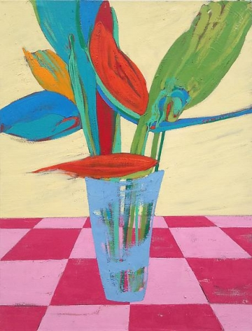 Nicola Tyson Vase of Flowers, 2012