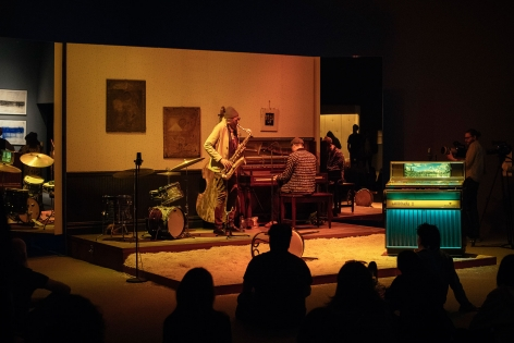 Jason Moran, Slug's Saloon Performance, 2018