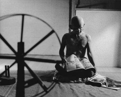 Yasumasa Morimura A Requiem: Spinning a Thread between the Light and the Earth / 1946, India, 2010