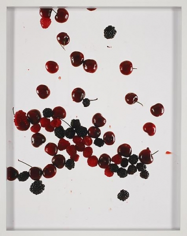 Elad Lassry Cherries, Raspberries, Blackberries (White), 2010