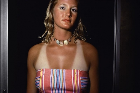 Joel Sternfeld, Nags Head, North Carolina, (#1), June-August 1975
