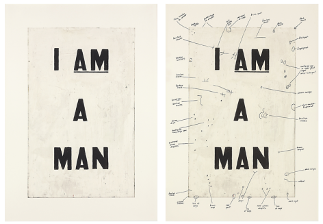 Glenn Ligon Condition Report, 2000
