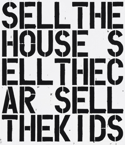 Christopher Wool Apocalypse Now, 1988
