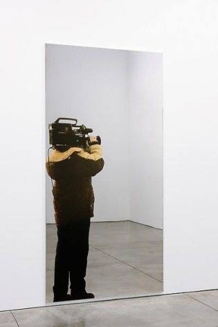Michelangelo Pistoletto Video ripresa (Video shoot), 2008