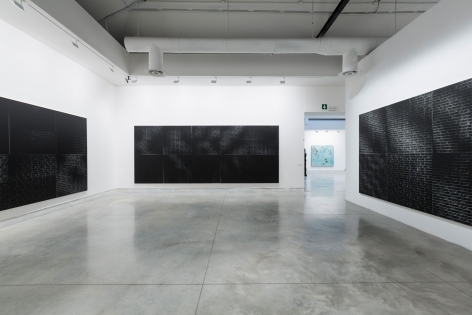 Installation view Venice Biennale 2015 (Left to right):,