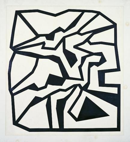 Philip Taaffe Blackburst, 1980–81
