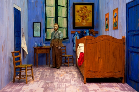 Yasumasa Morimura, Self-Portraits through Art History (Van Gogh's Room), 2016