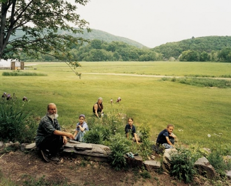 Joel Sternfeld Twelve Tribes Community, Basin Farm, Bellows Falls, Vermont, June 2005, 2005