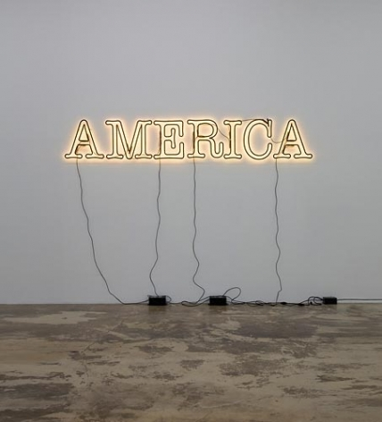 Glenn Ligon Untitled (America), 2008