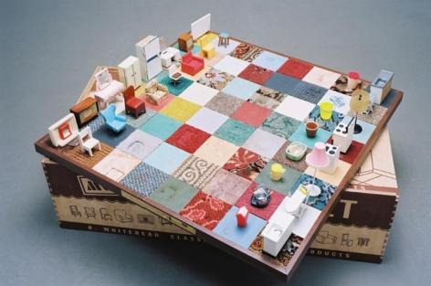Rachel Whiteread Modern Chess Set, 2005