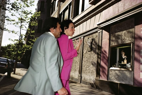 Joel Sternfeld, New York City, (#2), 1976
