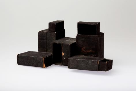 Lygia Clark, Estruturas de Caixa de Fósforos [Matchbox Structures], 1964