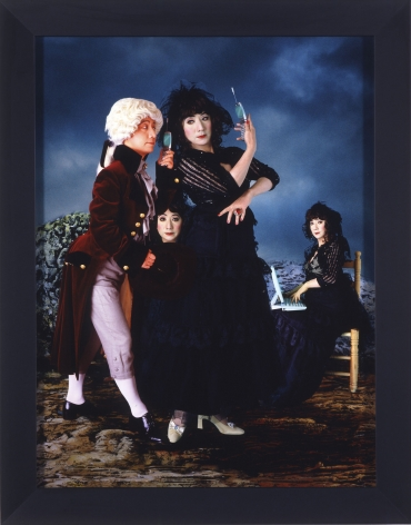 "Yasumasa Morimura, ""One Way Ticket"" is out of fashion, 2004"