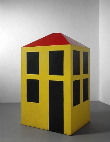 Michelangelo Pistoletto Casa a misura d'uomo (House on a Human Scale), 1965-1966