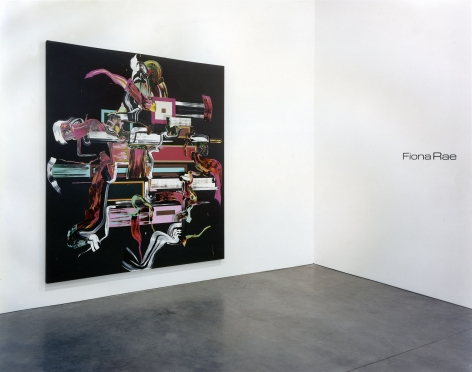 Fiona Rae, Installation view