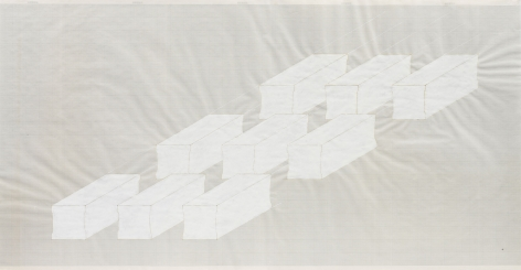 Rachel Whiteread Elongated Plinths, 1998